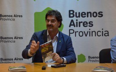 Sarquís presentó su libro de gestión de Agroindustria 2015-2019