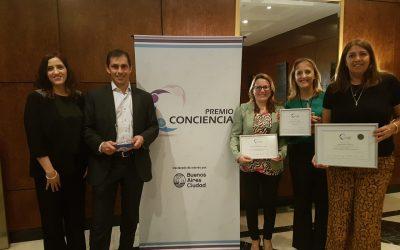 Premios Conciencia 2019 para empresas del Grupo Sancor Seguros