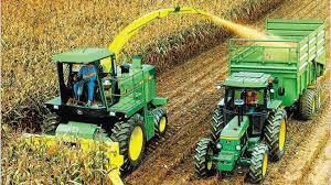 Desplome de producción total de maquinaria agrícola