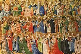 La Iglesia católica celebra hoy el día de todos los santos