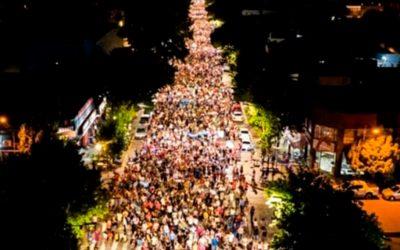 Siguen las movilizaciones en Mendoza por la Ley Minera
