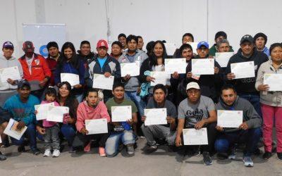 El RENATRE finalizó un ciclo de capacitaciones sobre prevención de riesgo de trabajo para 600 trabajadores en Salta