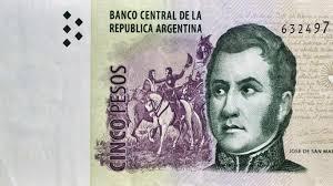 Banco Central extendió el plazo de circulación de los billetes de cinco pesos