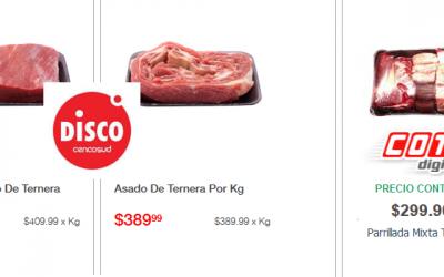 Cadenas de supermercados argentinas siguen vendiendo carne de una categoría comercial que ya no existe