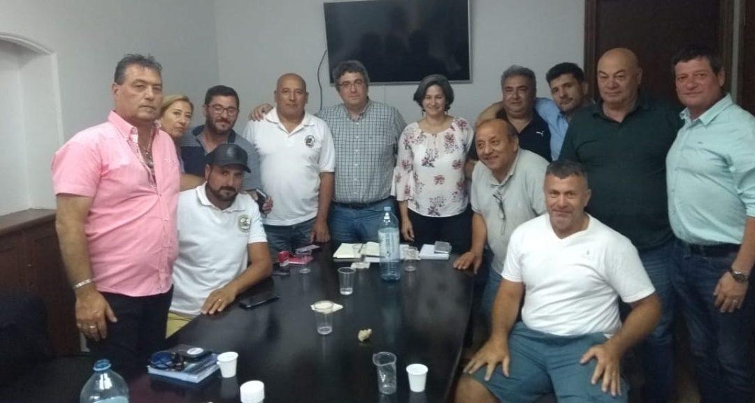 Reunión con el sector pesquero en Mar del Plata