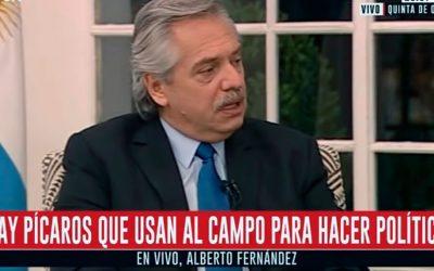 """Alberto Fernández aclaró que el Gobierno está """"trabajando"""" en la segmentación de retenciones"""