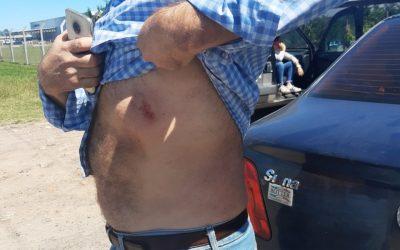 Repudio: Fueron a fiscalizar un molino en Pergamino y los agredieron a golpes y palazos