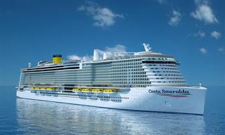 Comunicado de Costa Cruceros sobre enfermedad de pasajera en Costa Smeralda