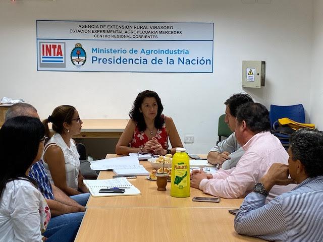 El Renatre mantuvo reuniones para coordinar futuras capacitaciones para trabajadores yerbateros en Corrientes