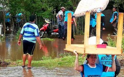 Fuertes lluvias causaron cortes de rutas y anegamientos en el noroeste de Tucumán
