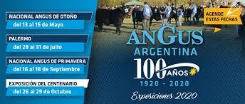 Angus suspende la Exposición Nacional de Otoño