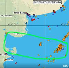 Los extranjeros invaden el Atlántico Sur y la patagonia marítima