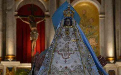Se celebró hoy los 400 años de la bienaventurada Virgen María del Valle en Argentina