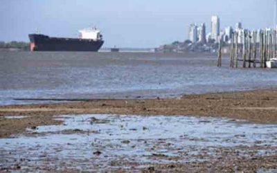 Bajante extraordinaria del Paraná suma presión a la logística exportadora