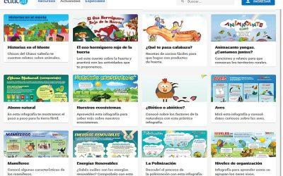 Más de 300 contenidos digitales del INTA para estudiar en casa