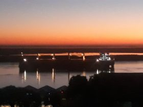 Bajante histórica: resolvieron en tiempo récord una nueva varadura de un buque en el Paraná