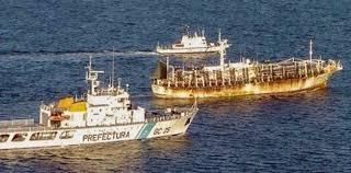 Argentina logró detener al buque pesquero chino que se había fugado