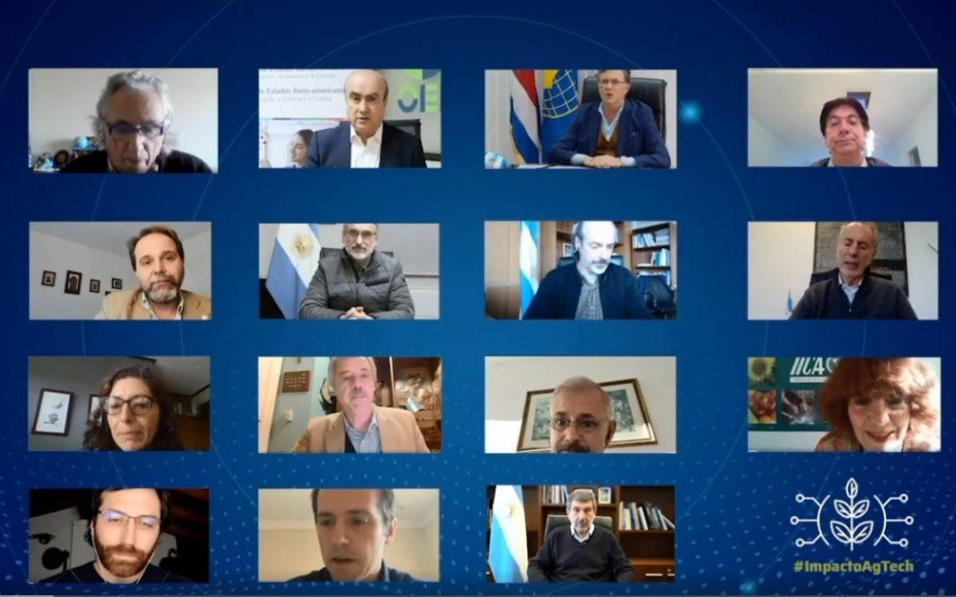 """El ministro Basterra abrió el ciclo virtual """"El Impacto Científico Tecnológico en el desarrollo del Sector Agropecuario"""""""