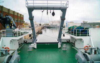 Pesca ilegal: redes confiscadas servirán al INIDEP