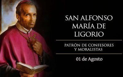 Hoy celebramos a San Alfonso María de Ligorio, patrono de confesores y moralistas, quien escribió Las Glorias de María