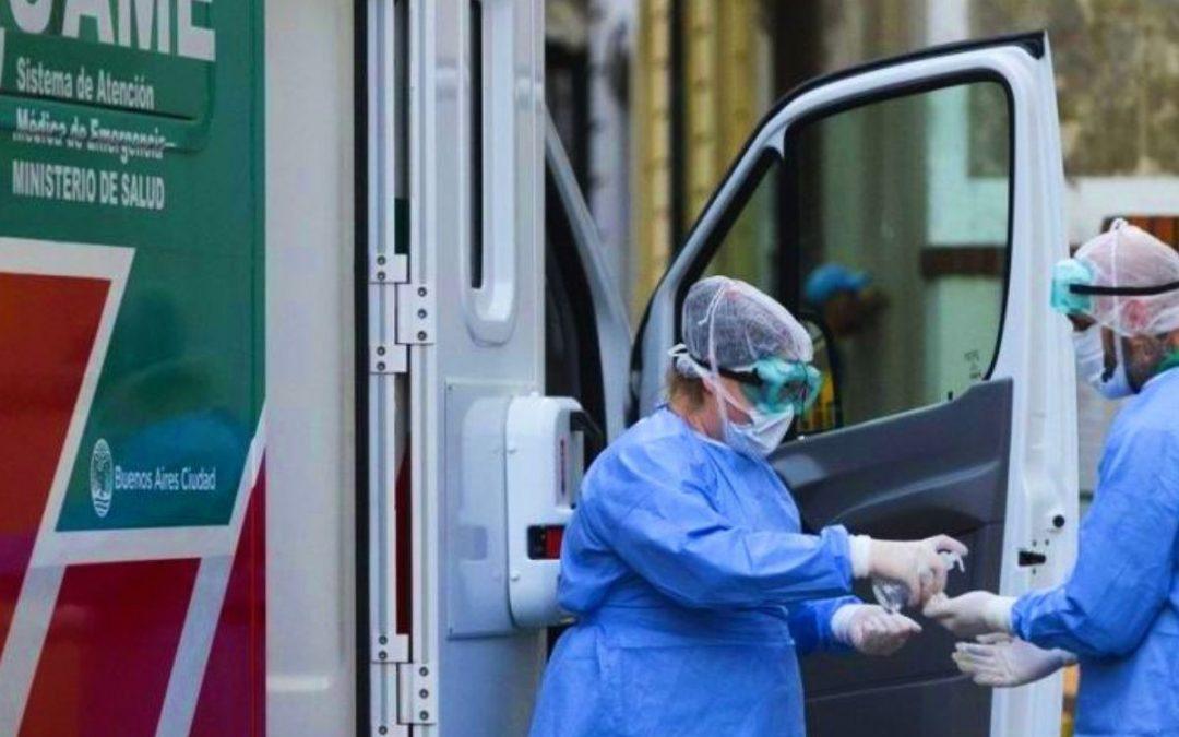 Récord de muertes en 24 horas por coronavirus en el país: 166 fallecidos y ya son 3813.