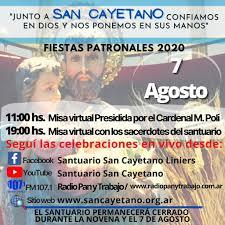 San Cayetano en tiempos de pandemia: el templo porteño estará cerrado a los fieles y las misas del viernes serán virtuales