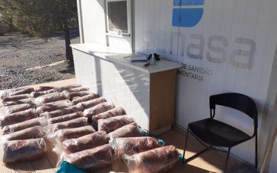 Donación de 13,5 toneladas de alimentos a entidades de bien público