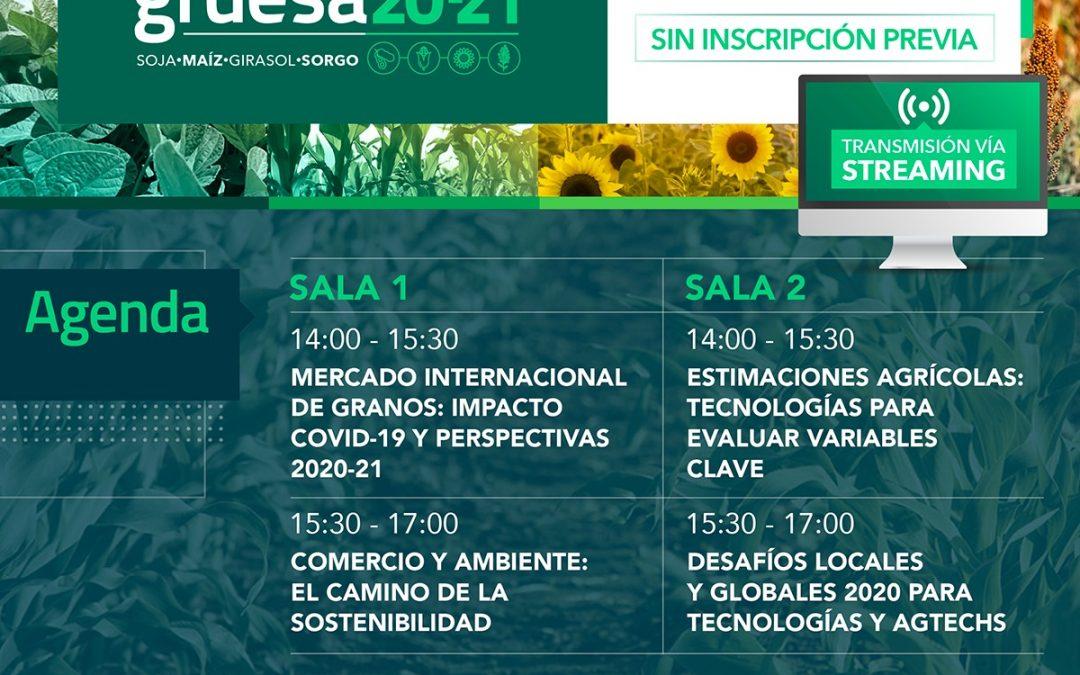 La Bolsa de Cereales de Buenos Aires realizará el lanzamiento de la Campaña Gruesa 2020-2021
