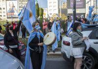 Nuevo banderazo en el obelisco y distintas ciudades del país