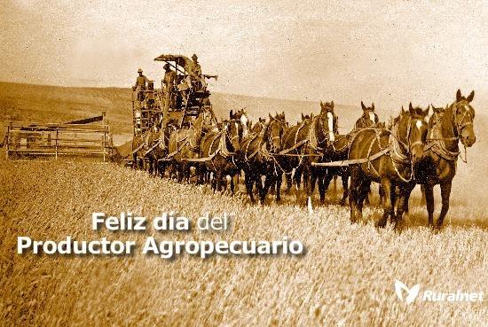 Hoy es el Día de la Agricultura y del Productor Agropecuario