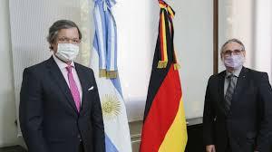 Basterra se reunió con el embajador de Alemania en Argentina
