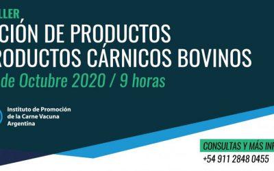 """IPCVA: Este viernes 23 de octubre llega el Taller sobre """"Irradiación de productos y subproductos cárnicos"""""""