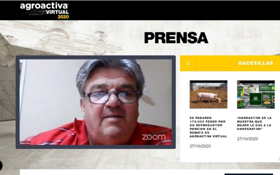 """Ulises Forte: """"Desde el IPCVA siempre apostamos al crecimiento del sector ganadero de AgroActiva"""""""
