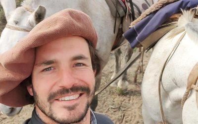 """Marcos Villamil es ingeniero agrónomo y se propuso recorrer todo el país a caballo: """"Soy una persona enamorada de mi país"""""""