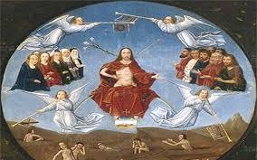 """""""Cuando venga en su gloria el Hijo del hombre, y todos los ángeles con él, se sentará en el trono de su gloria y serán reunidas ante él todas las naciones"""""""