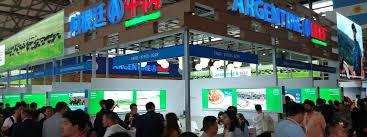 Gran presencia de la carne argentina en la CIIE de China 2020