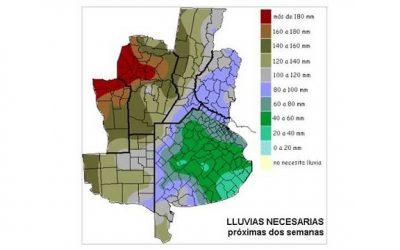 Aumenta la demanda de lluvias