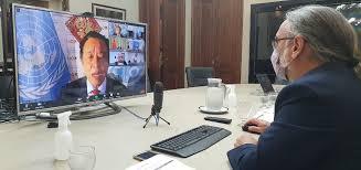 En el encuentro con la CELAC- China, Basterra celebró el acuerdo con México