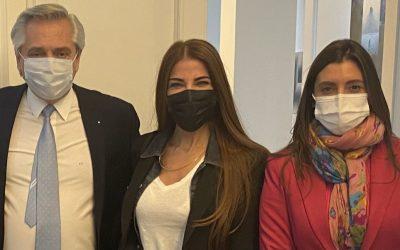 Zulemita Menem se reunió con Alberto Fernández para ser candidata a diputada por La Rioja
