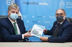 Basterra y Ziliotto acordaron una agenda de trabajo conjunta para la implementación del Plan Ganadero