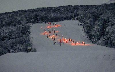 Emotivo lanzamiento de temporada invernal en  Cerro Castor