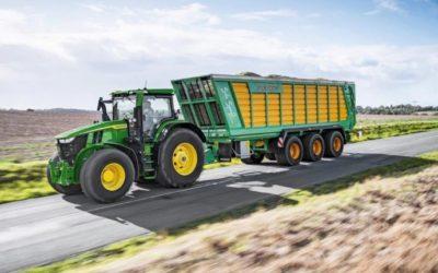 John Deere ganó el premio al Tractor del Año