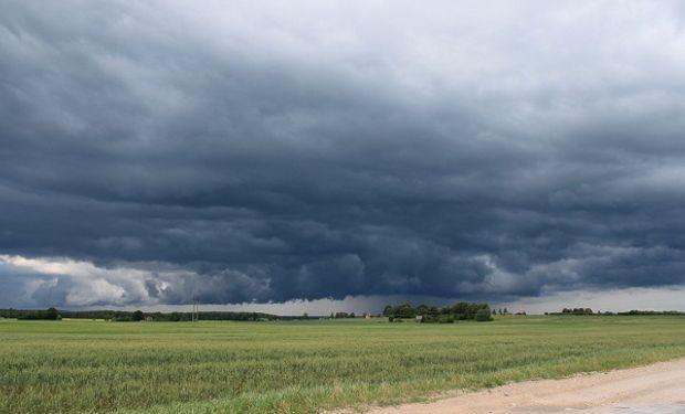 Alerta del Servicio Meteorológico Nacional por lluvias y tormentas en zona núcleo