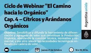 Cuarto encuentro: Cadena Orgánica de Cítricos y Arándanos